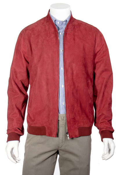 HERNO Leather Blouson