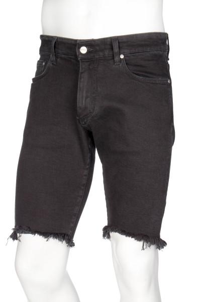 REPRESENT Denim Shorts Black