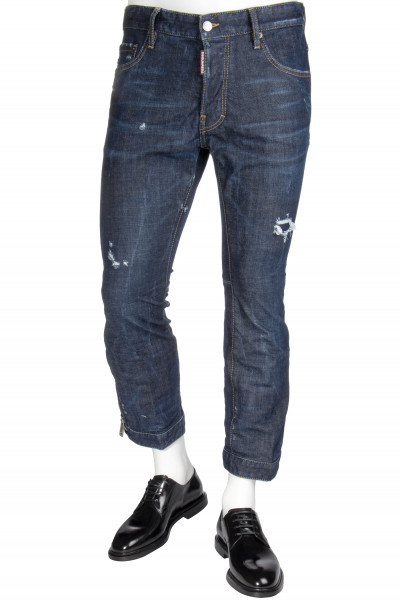 DSQUARED2 Jeans Biker Sky Dark Ideal