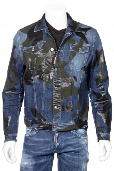 DSQUARED2 Camo Wash Denim Jacket