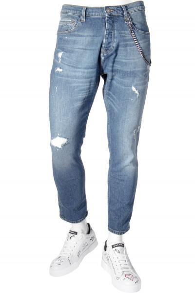 THE KOOPLES Short Drop Jeans