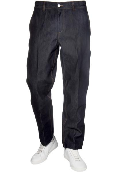 MAISON KITSUNÉ Creased Jeans Wide Leg
