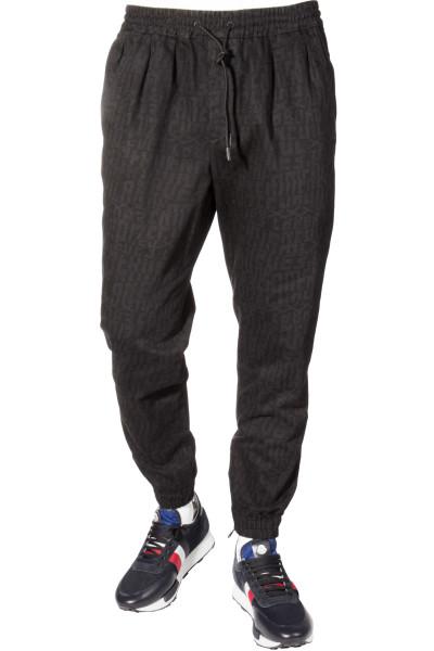 ERMENEGILDO ZEGNA COUTURE Pants Lettering