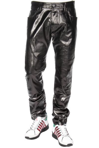 DSQUARED2 x MERT & MARCUS 1994 Straight Leg Coated Jeans