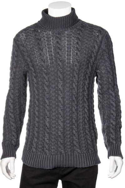 AIDA BARNI Turtleneck Cashmere Knit Sweater