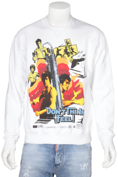 DSQUARED2 Sweatshirt Bruce Lee Print