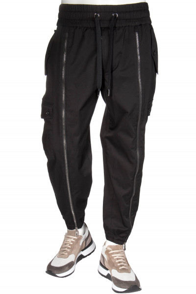 DOLCE & GABBANA Sweatpants Zip Deatails