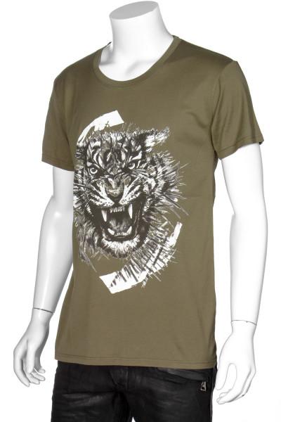 BALMAIN T-Shirt Printed Tiger