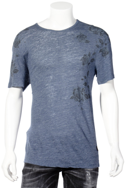 JOHN VARVATOS Flower Printed T-Shirt