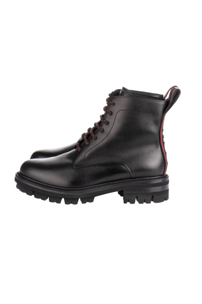 DSQUARED2 Flat Lace-Up Ankle Boots Evolution Tape