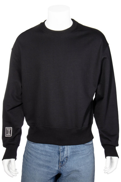 AMI Embroidered Patch Sweatshirt