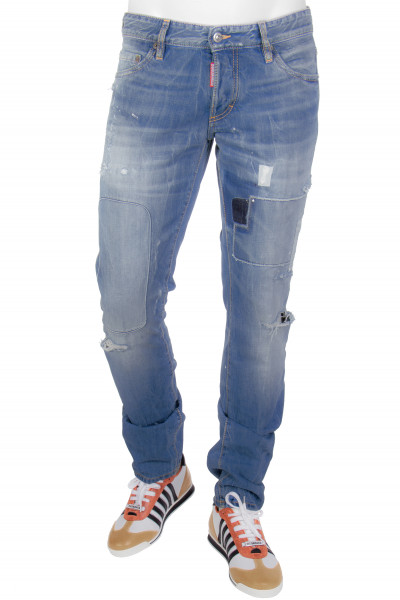 DSQUARED2 Jeans Ripped Patch Slim
