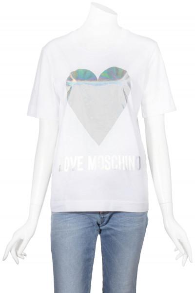 LOVE MOSCHINO T-Shirt Printed Heart