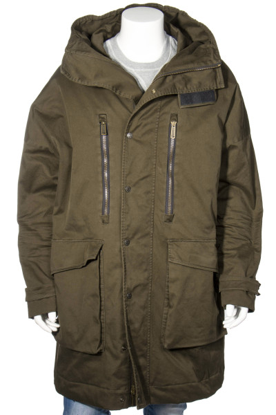 DSQUARED2 Hooded Twill Parka