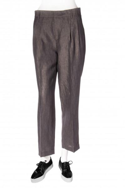 ASPESI Pleated Linen Trousers