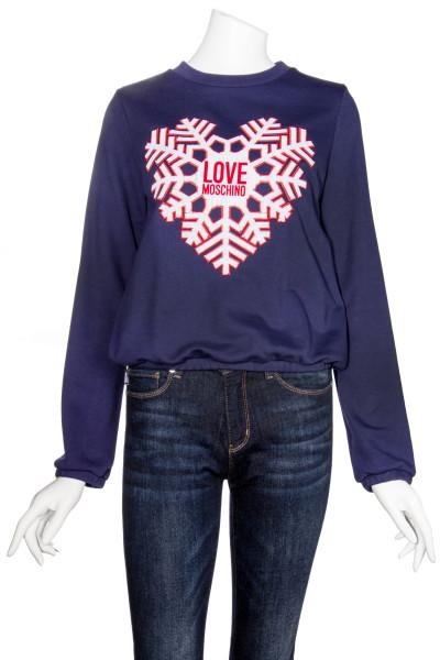 LOVE MOSCHINO Snowflake Sweatshirt