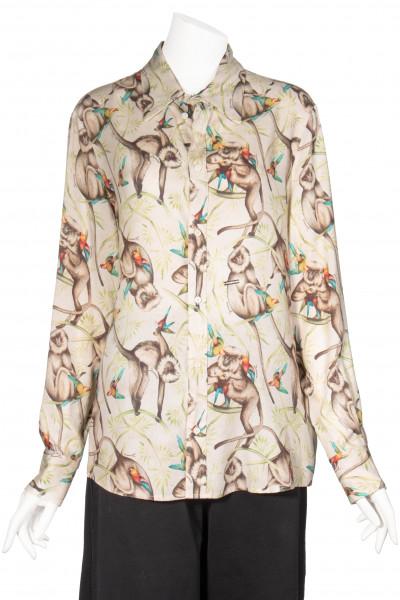 DSQUARED2 Shirt Tropical Print
