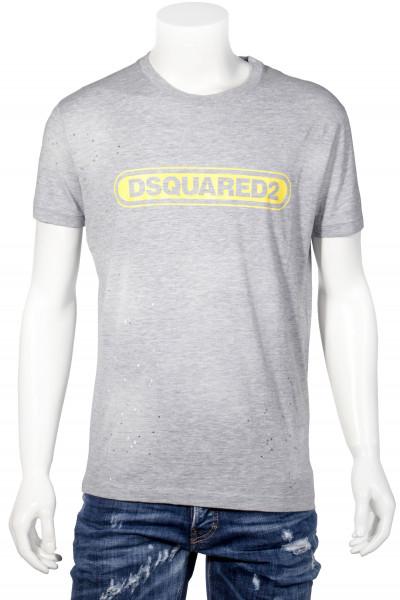 DSQUARED2 Printed T-Shirt Logo Holes