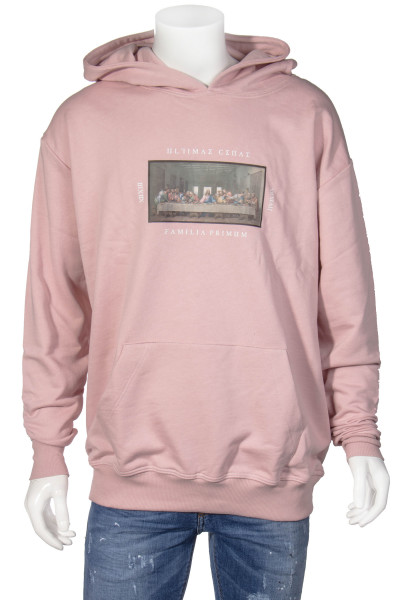 FAMILY FIRST Hoodie Last Supper Print