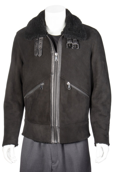 FAMILY FIRST Sherling Aviator Jacket