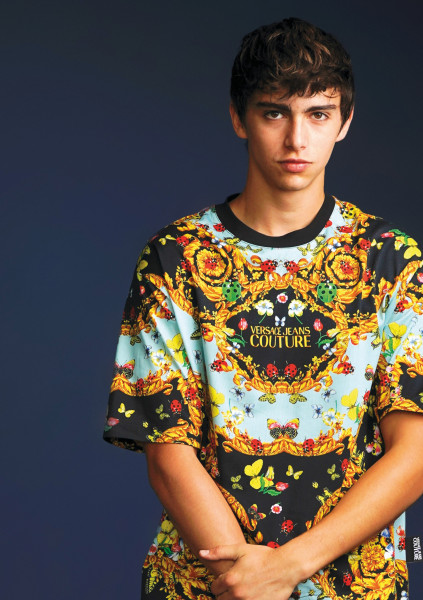 VERSACE JEANS COUTURE T-Shirt All Over Print