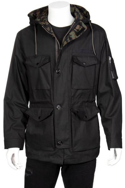 THE KOOPLES Hooded Field Jacket