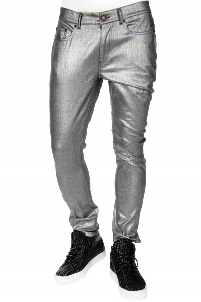 SAINT LAURENT Metallic Jeans