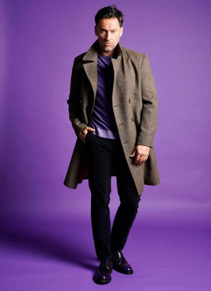 SCHNEIDERS Tweed Wool Coat Flavio