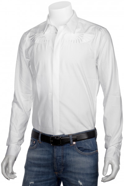 GIVENCHY Dress Shirt Embroidered Wings