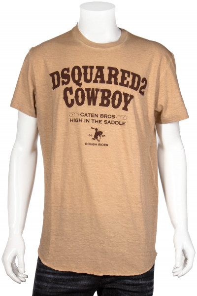 DSQUARED2 T-Shirt D2 Cowboy Printed