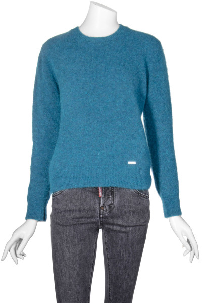DSQUARED2 Mohair Blend Knit Sweater