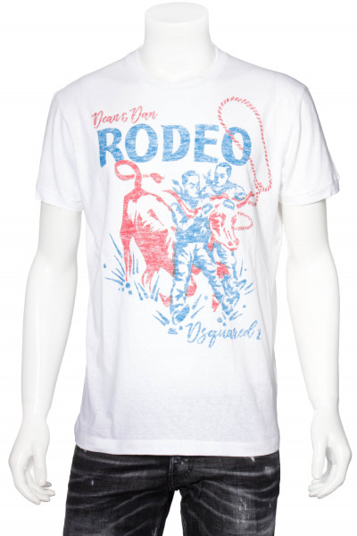DSQUARED2 T-Shirt Printed Rodeo
