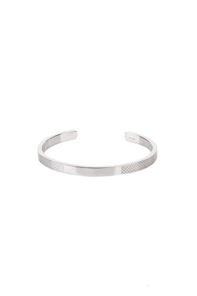 TATEOSSIAN Engravable Silver Bangle