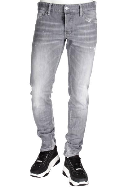 DSQUARED2 Slim Jeans Grey Denim