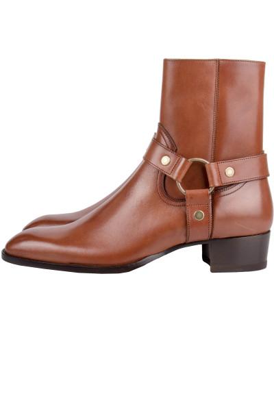 SAINT LAURENT Boots Wayatt 40 Harness