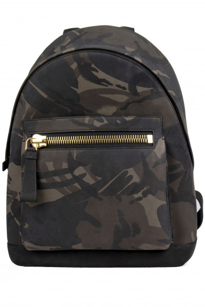 TOM FORD Camouflage Medium Buckley Backpack