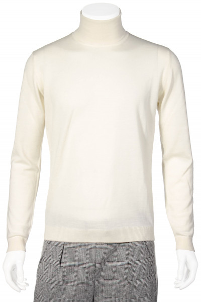 ROBERTO COLLINA Turtle Neck Wool Knit Sweater