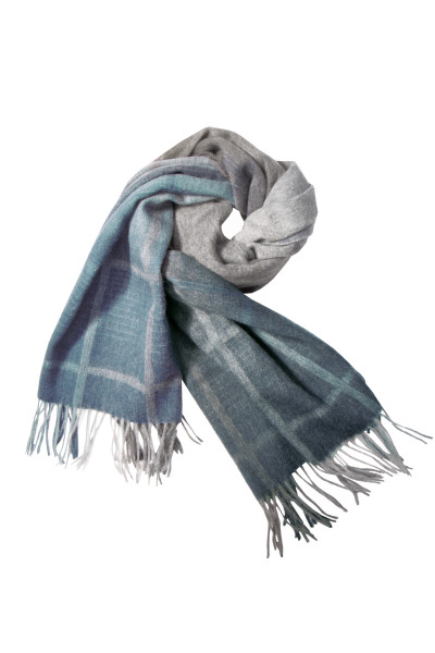 PAUL SMITH Wool Scarf Checked