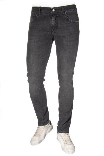 DOLCE & GABBANA Skinny Jeans Distressed Pockets