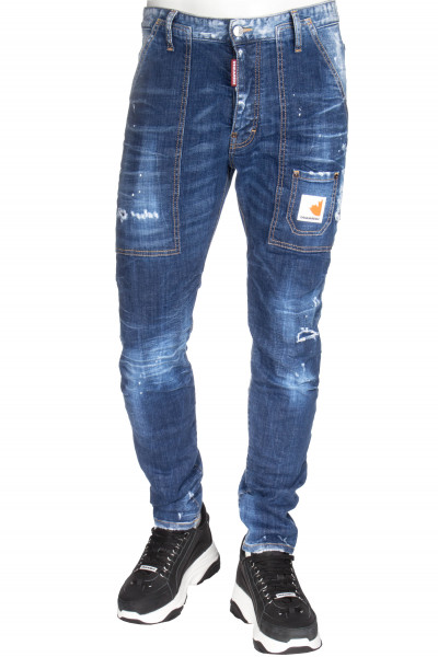 DSQUARED2 Jeans Dark Front Wash