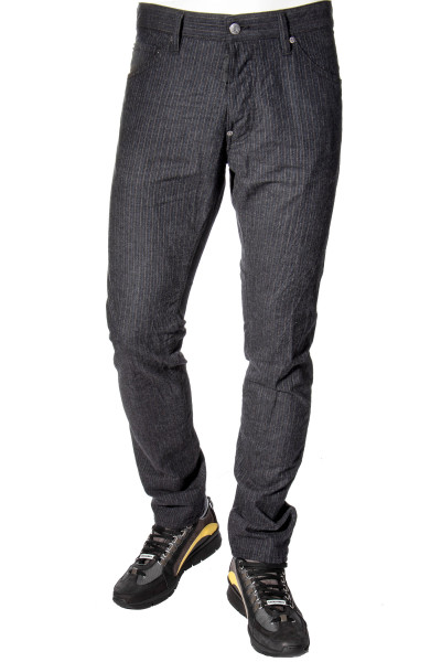 DSQUARED2 Jeans Cool Guy Pinstripe Brushed
