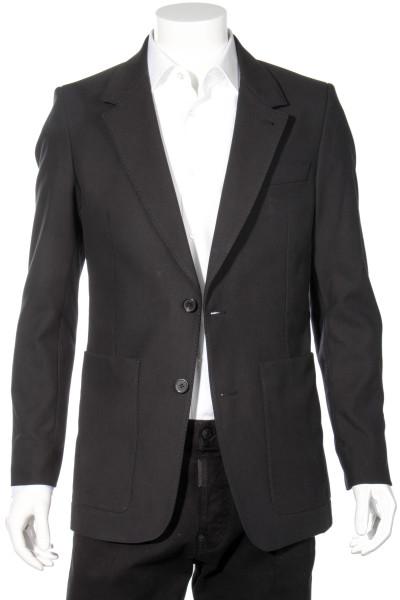 AMI PARIS Slim Fit Cotton Blazer