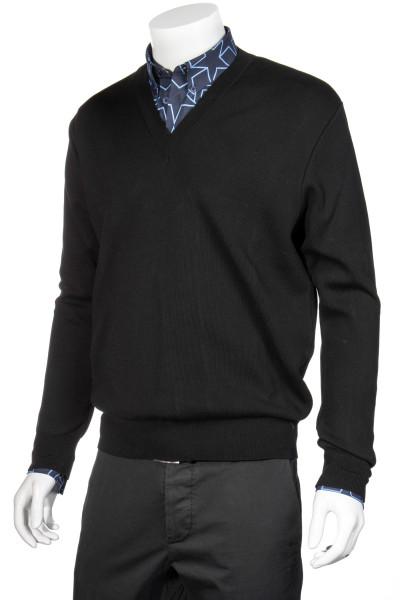 GIVENCHY Cotton Knit Sweater V-Neck