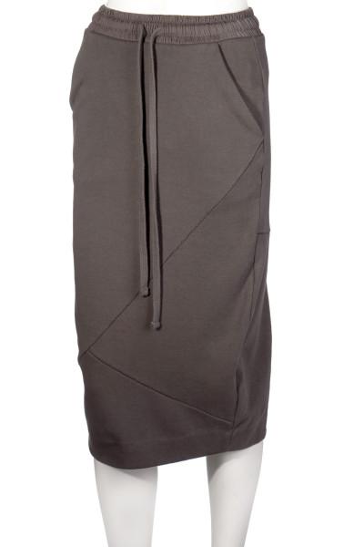 THOM KROM Sweat Skirt Asymmetrical Seams