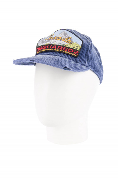 DSQUARED2 Corduroy Patch Cap