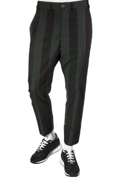 VIVIENNE WESTWOOD Striped Crop Pants
