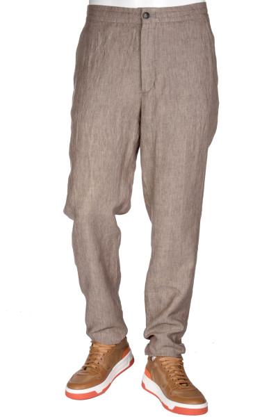 ERMENEGILDO ZEGNA Linen Pants
