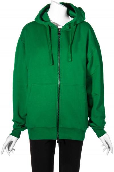 ROQA Oversized Zip-Hoodie Green