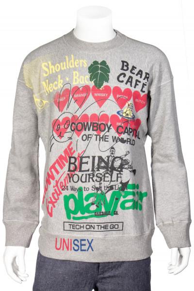 VIVIENNE WESTWOOD Sweatshirt Cowboy Capital Print