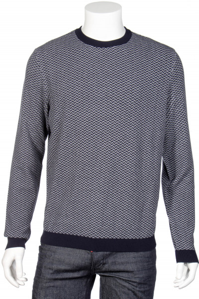 EMPORIO ARMANI Patterned Knit Sweater